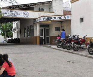 foto: Fue hospitalizada tras incendiarse en la quema de un pastizal