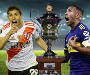foto: River y Boca definen hoy la Superliga: definición para el infarto