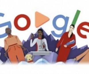 foto: El doodle con el Google conmemora el Día Internacional de la Mujer