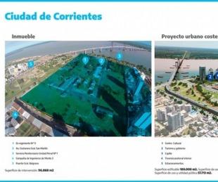 foto: Corrientes deberá devolver un predio cedido para el Plan Costero
