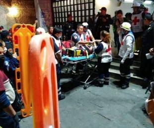 foto: Tragedia en Metro Tacubaya: un muerto y 41 heridos confirmados