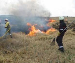 foto: Quemaba pastizales, el fuego alcanzó su casa y murió calcinado