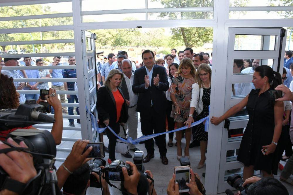 foto: Valdés inauguró el nuevo edificio del Colegio de Mercedes