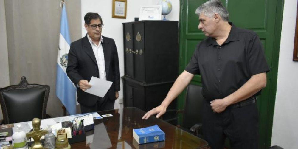foto: Tras la renuncia de la secreatria de Salud, asumieron autoridades