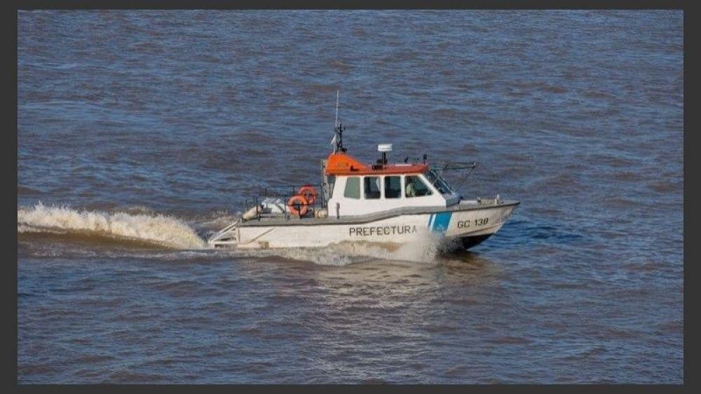 foto: Prefectura suspendió el servicio de embarcaciones en Esquina