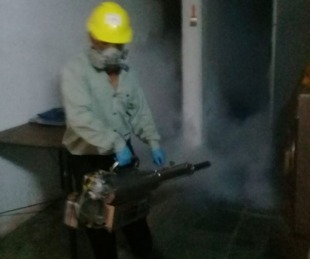 foto: Mercedes:  bloquean zona donde detectaron otro caso de dengue