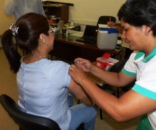 foto: Salud Pública comenzó hoy la vacunación antigripal