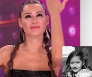 foto: Pampita compartió una foto de su niñez y enterneció su gran parecido con Blanca