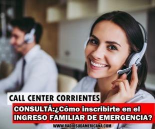 foto: Corrientes: Habilitan call center para consultas sobre incripción al IFE