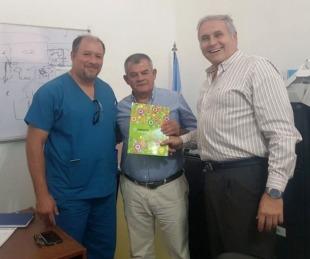 foto: Asumió el director asistencial del hospital de Esquina