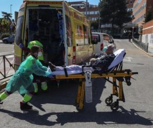 foto: España reportó 838 muertes por coronavirus y suma 6.528 fallecidos