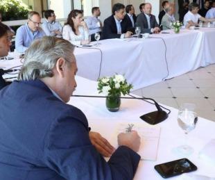 foto: Fernández definirá con gobernadores extensión de la cuarentena