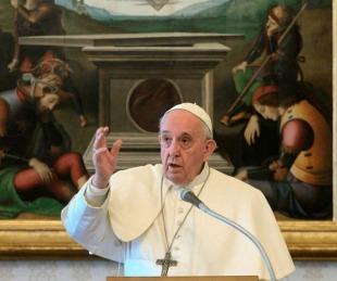 foto: Coronavirus: el Papa advirtió sobre un