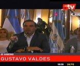 foto: Valdés recorta sueldos de todo su Gabinete para destinar a salud y seguridad
