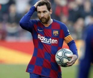 foto: Coronavirus: Messi y los jugadores del Barcelona cobrarán un 70% menos