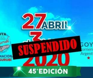 foto: Goya: el intendente suspendió la Fiesta Nacional del Surubí