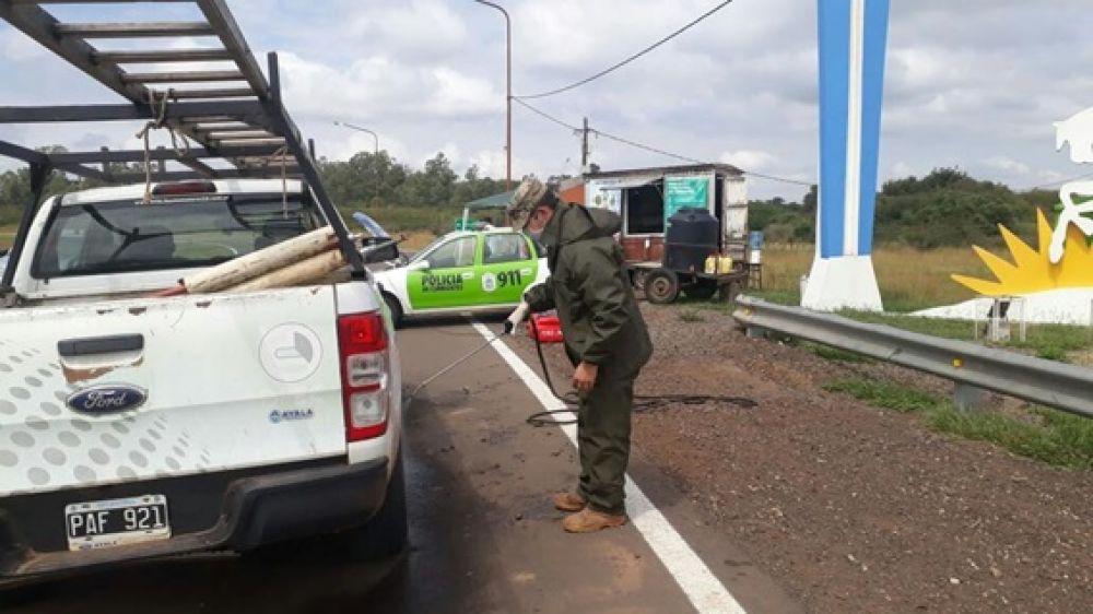 foto: Yapeyú sigue trabajando en la prevención del dengue y coronavirus