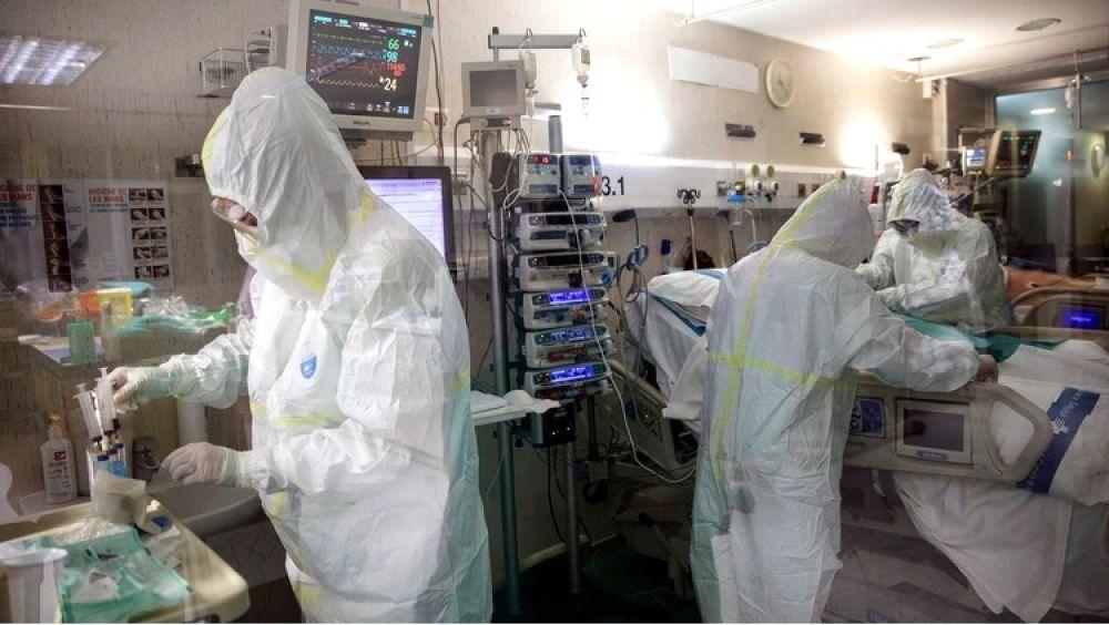 foto: España reportó 864 muertes por coronavirus en 24 horas