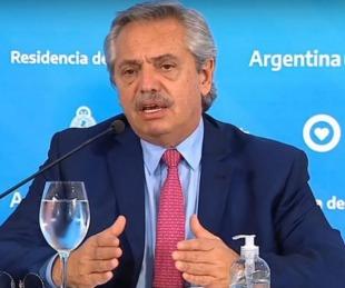 foto: Alberto enfurecido con el Central, la ANSES y el sindicato bancario