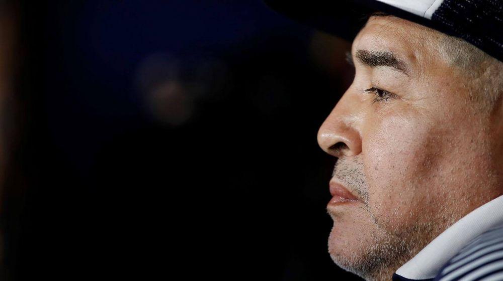 foto: Maradona y un fondo para ayudar a jugadores y técnicos del ascenso