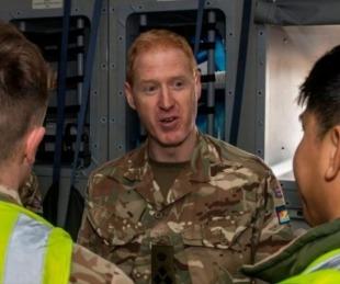 foto: Malvinas: segundo caso positivo y es otro militar británico