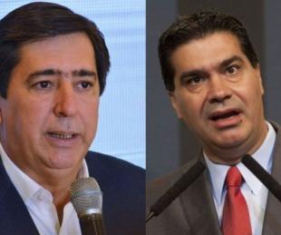 foto: Insólita pelea entre el intendente de Resistencia y Jorge Capitanich