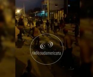 foto: Video: enfrentamiento entre familias, terminó en una batalla campal