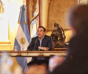 foto: Valdés ser reunió con empresarios para analizar la situación económica