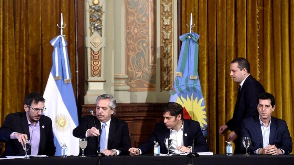 El presidente Alberto Fernández presentó la Cuenta DNI