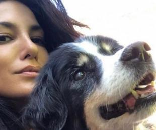 foto: Escudero por la muerte de su perra: