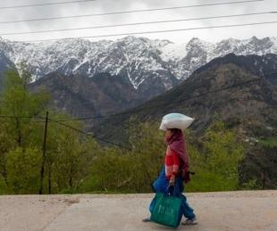 foto: Reapareció el Himalaya: los picos son visibles por primera vez en décadas gracias a la menor polución