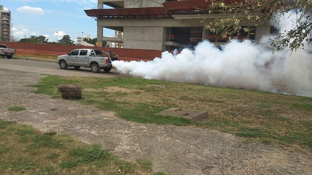 La Municipalidad profundiza las tareas de fumigación en la ciudad