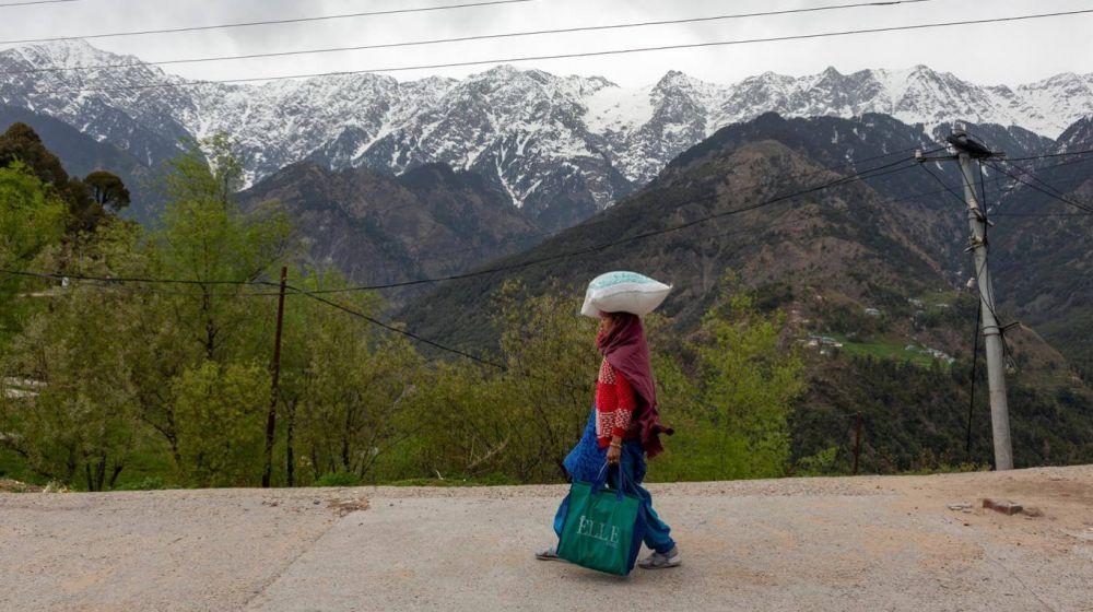 Se pudo ver el Himalaya por primera vez desde la Segunda Guerra Mundia