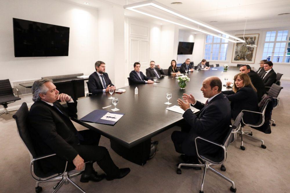 Alberto Fernández se reunió con empresarios del sector del turismo
