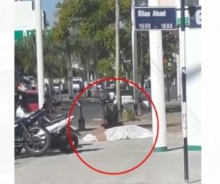 foto: Fue a comprar una gaseosa, se descompensó y murió en la vereda