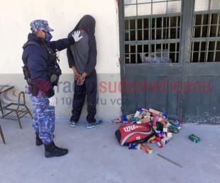 foto: Intentaron robar en una escuela aprovechando la cuarentena