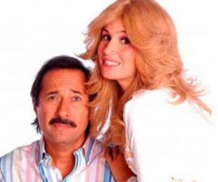 foto: Desopilante posteo de Francella con Flor Peña como Pepe y Moni Argento