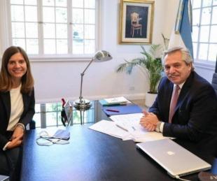 María Fernanda Raverta es la nueva titular de la Anses a nivel nacional