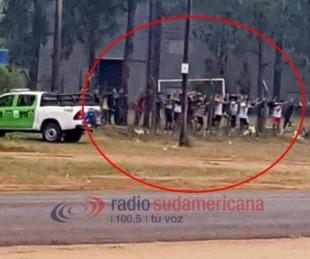 Bella Vista: 15 personas fueron demoradas por jugar al fútbol