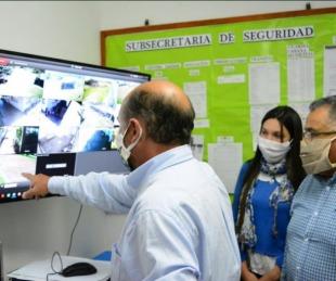 foto: Centro de Monitoreo con resultados positivos en Mercedes