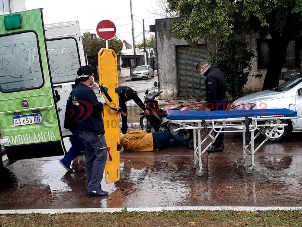 foto: Se accidentó hijo de un reconocido chamamecero correntino