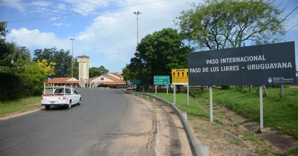 foto: Los controles de frontera con Uruguayana son muy estrictos