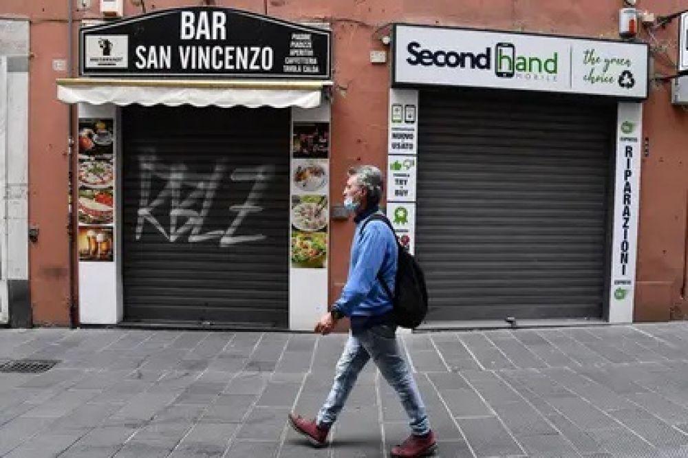 foto: Italia: registran 119 muertes y cinco regiones sin casos nuevos