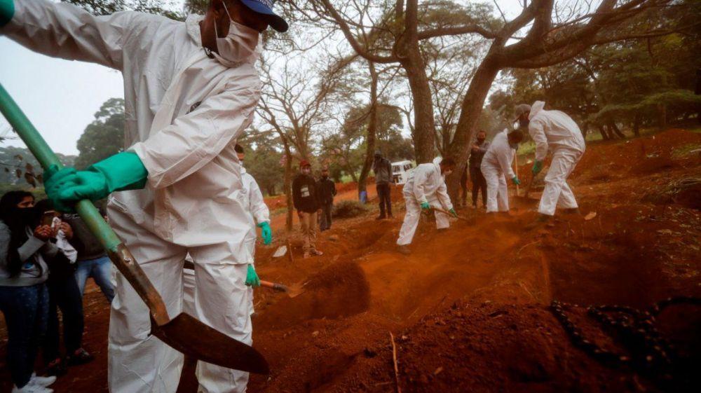 foto: Con 24.512 muertes Brasil es el segundo país más golpeado
