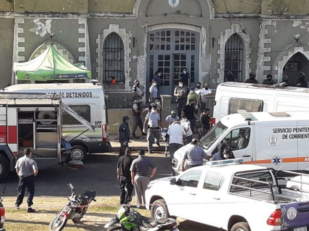 foto: Incidentes en el pabellón 11: Lo controlamos en 10 minutos