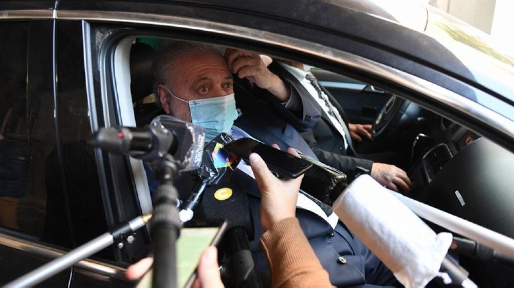 foto: Le dieron el alta a Ginés González García: Me siento bien
