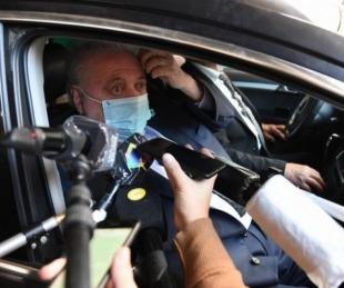 foto: Le dieron el alta a Ginés González García: