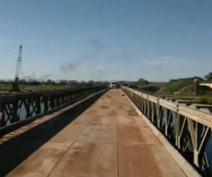 foto: Realizarán trabajos sobre el puente Bailey en el Arroyo Guazú