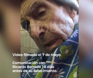 foto: Barreda, 18 días antes de morir envió un mensaje a su biógrafo