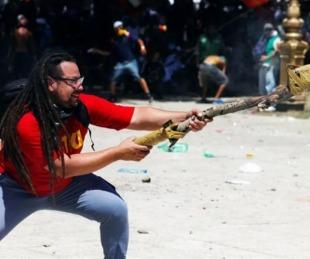 foto: Detuvieron en Uruguay al militante prófugo del mortero